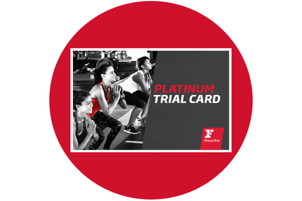 Fitness First Thailand platinum zone free trial card