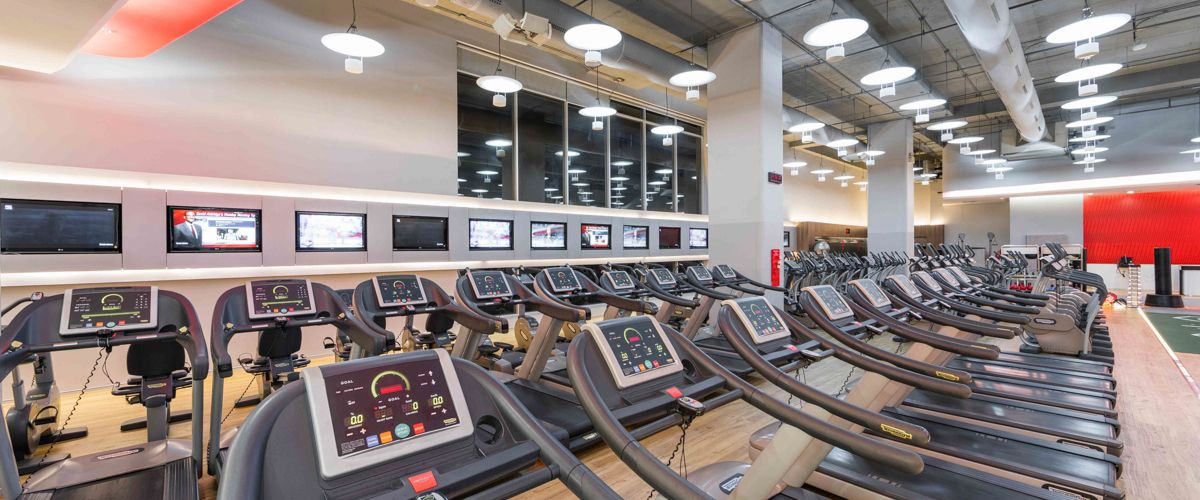 Fitness First CentralPlaza Grand Rama 9 Cardio Area