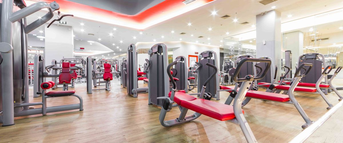 Fitness First CentralPlaza Grand Rama 9 Machine Area