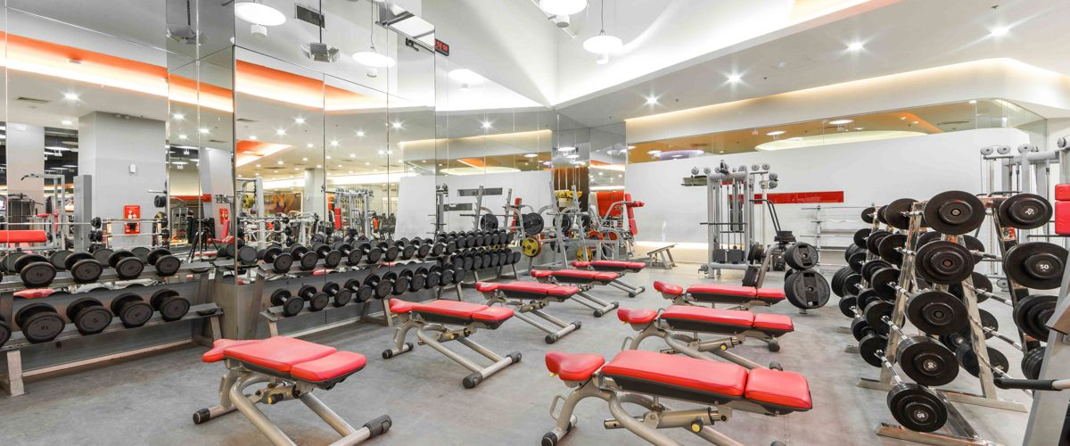 Fitness First CentralPlaza Grand Rama 9 Weight Area