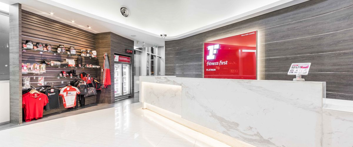 Fitness First Platinum Q House Lumpini Front Desk