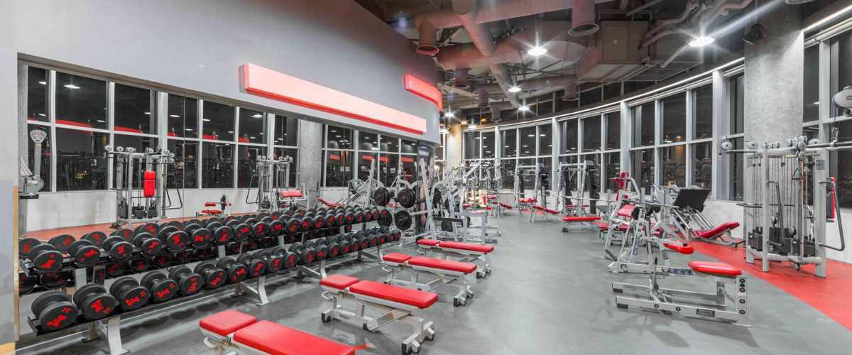 Fitness First Platinum Q House Lumpini Weight Area