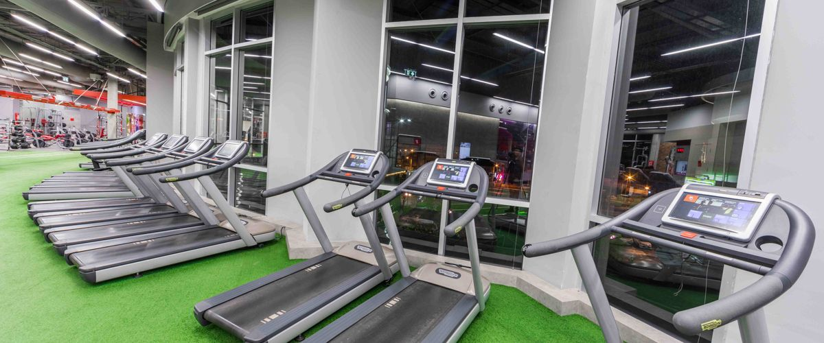 Fitness First The Crystal Sb Ratchapruek Cardio Area