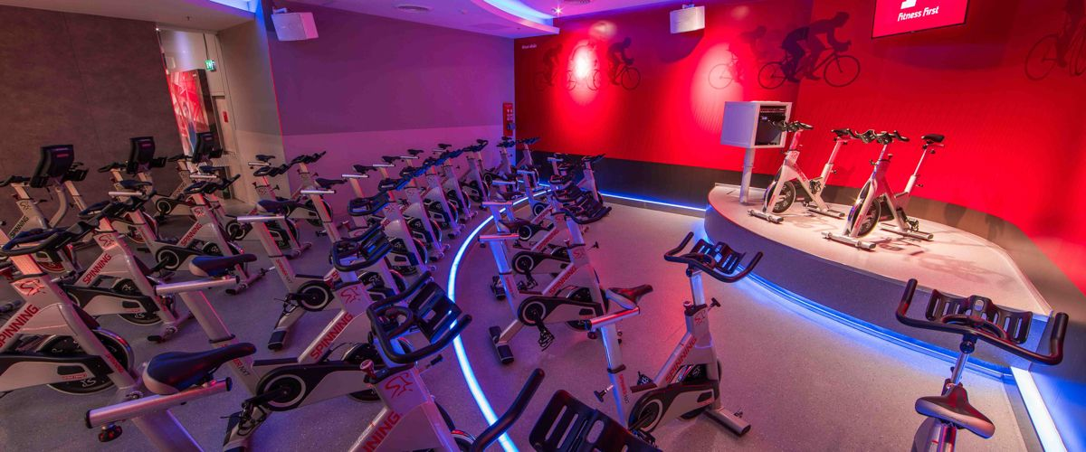Fitness First The Crystal Sb Ratchapruek Cycling Studio