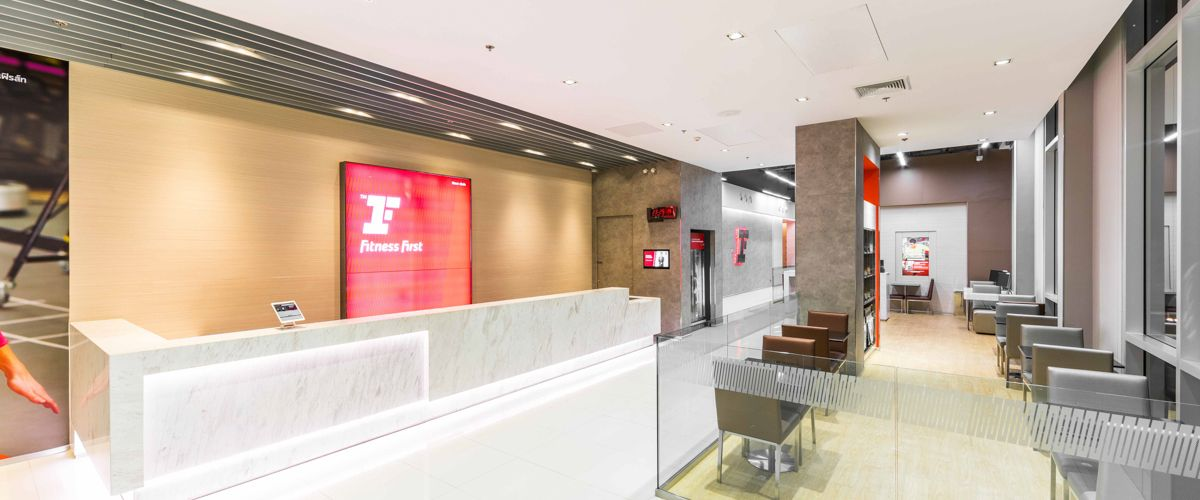Fitness First The Crystal Sb Ratchapruek Front Desk