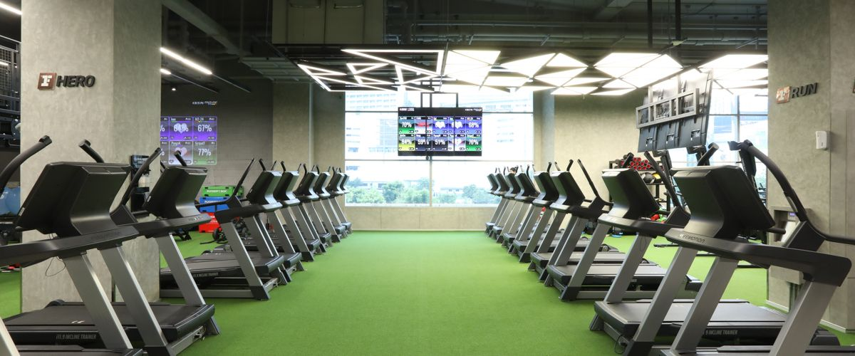 Fitness First Zone CentralWorld Cardio Area
